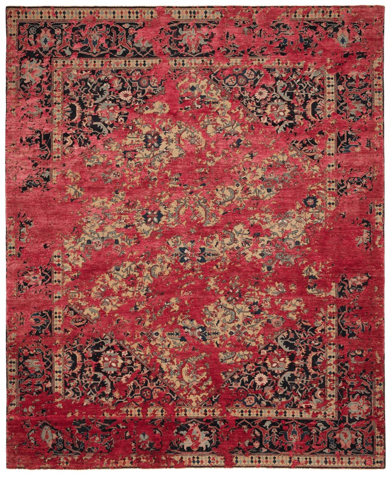 Picture of a Serapi Queensbury Double Sky rug