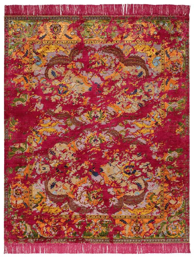 Picture of a Polonaise Eastcoat Double Sky rug