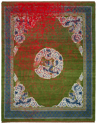 Picture of a Dragon Tohuwabohu rug