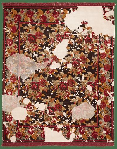 Picture of a Karabagh Splashed rug