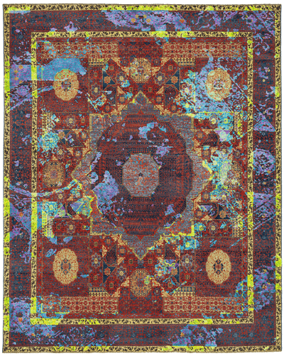 Picture of a Mamluk Columbus Tagged rug