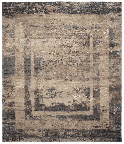 Picture of a Artwork 27 Triple Border Reverse rug