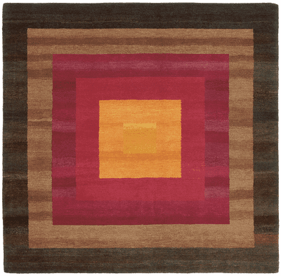 Picture of a 6 Border rug