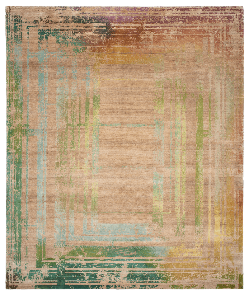 Picture of a Frame Alta Turn  - Mauro Spectrum rug
