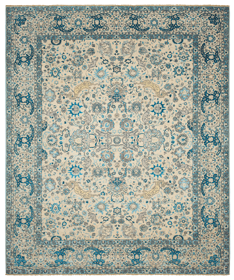 Picture of a Kirman Jungle V2 rug