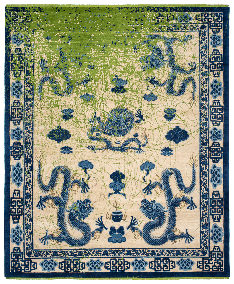 Picture of a Imperial Dragon Tohuwabohu rug