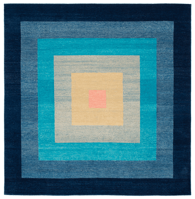Picture of a Yantra 6 Border rug