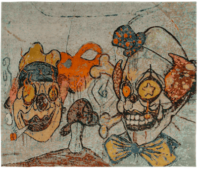 Picture of a Clown 2 rug