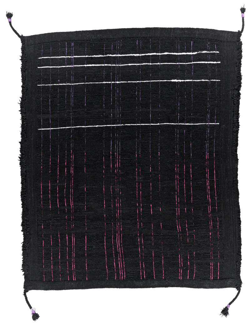 Picture of a Matrix Reverse rug