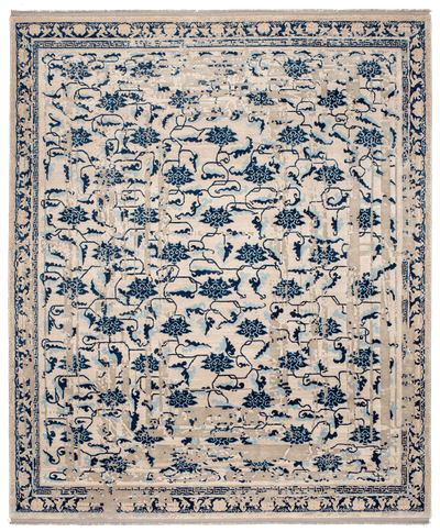 Picture of a Lotus Frame rug