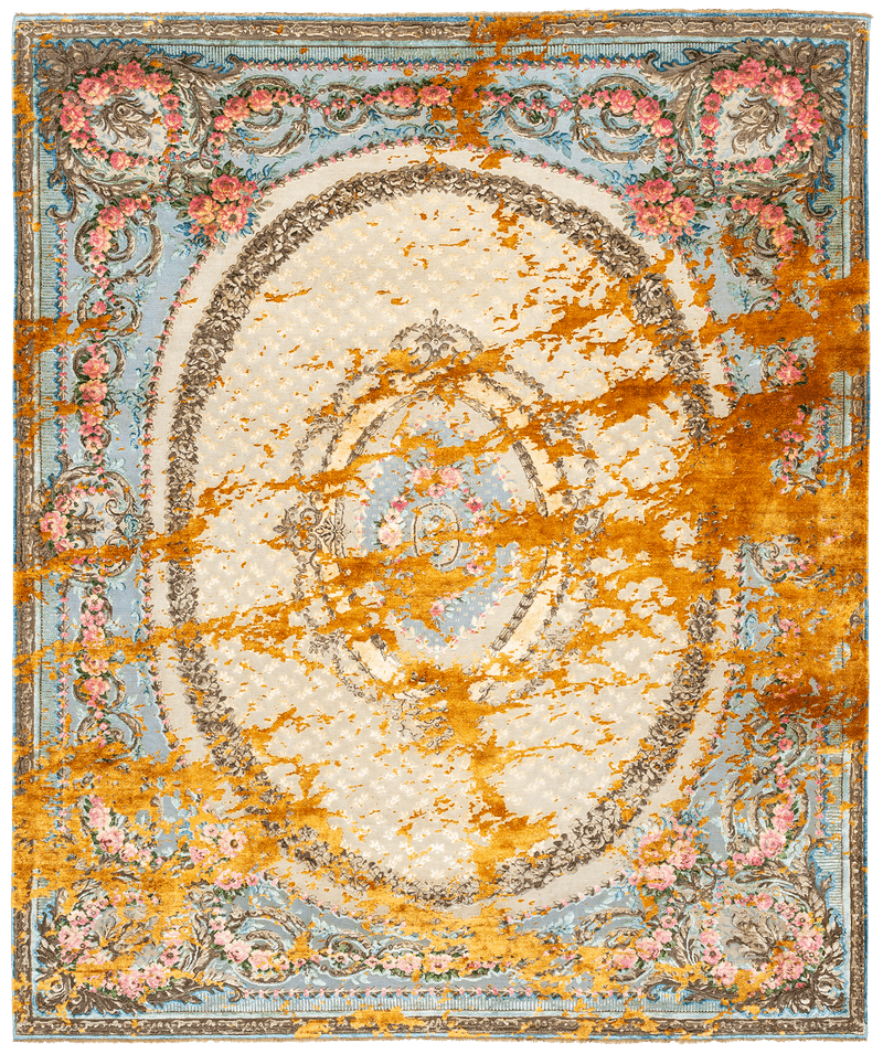 Picture of a Tentation Douce Sky rug