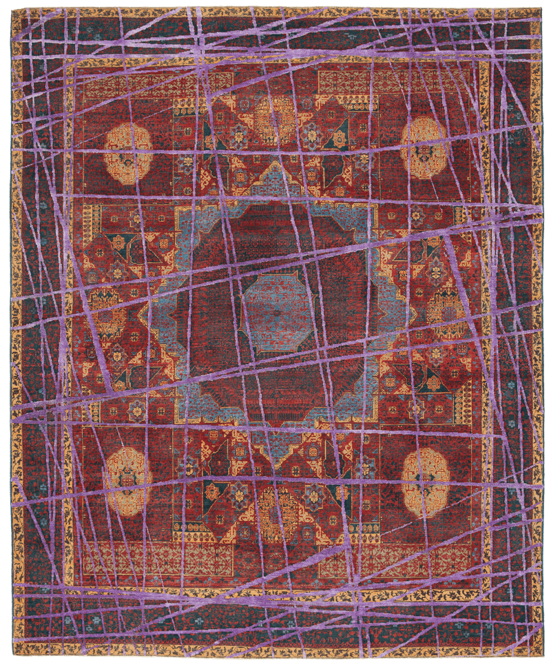 Picture of a Mamluk Columbus Wrapped rug