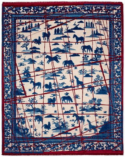 Picture of a Royal Horse Wrapped rug