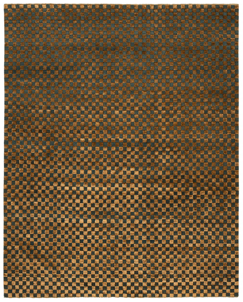 Picture of a Checkerboard rug