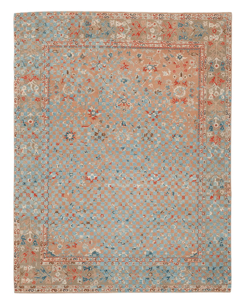 Picture of a Sulthanabad Madison Checker Raved rug