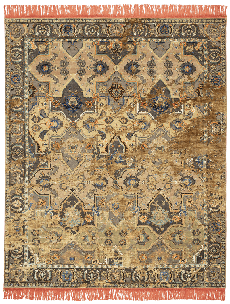 Picture of a Polonaise Snaresbrook Sky rug