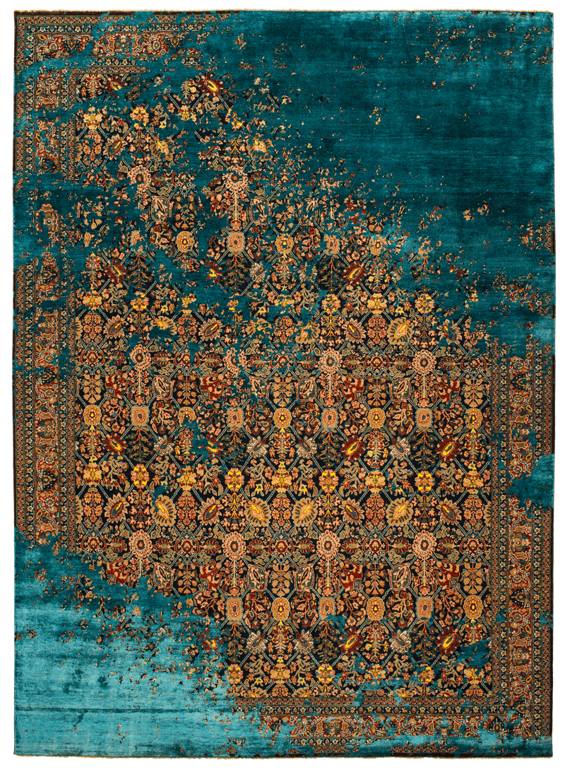 Picture of a Tabriz Canal Raved rug