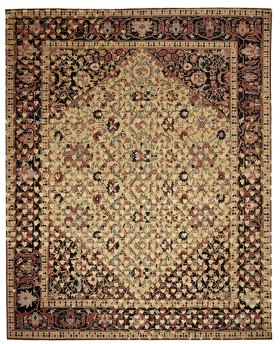Picture of a Serapi Queensbury Broken Heart rug