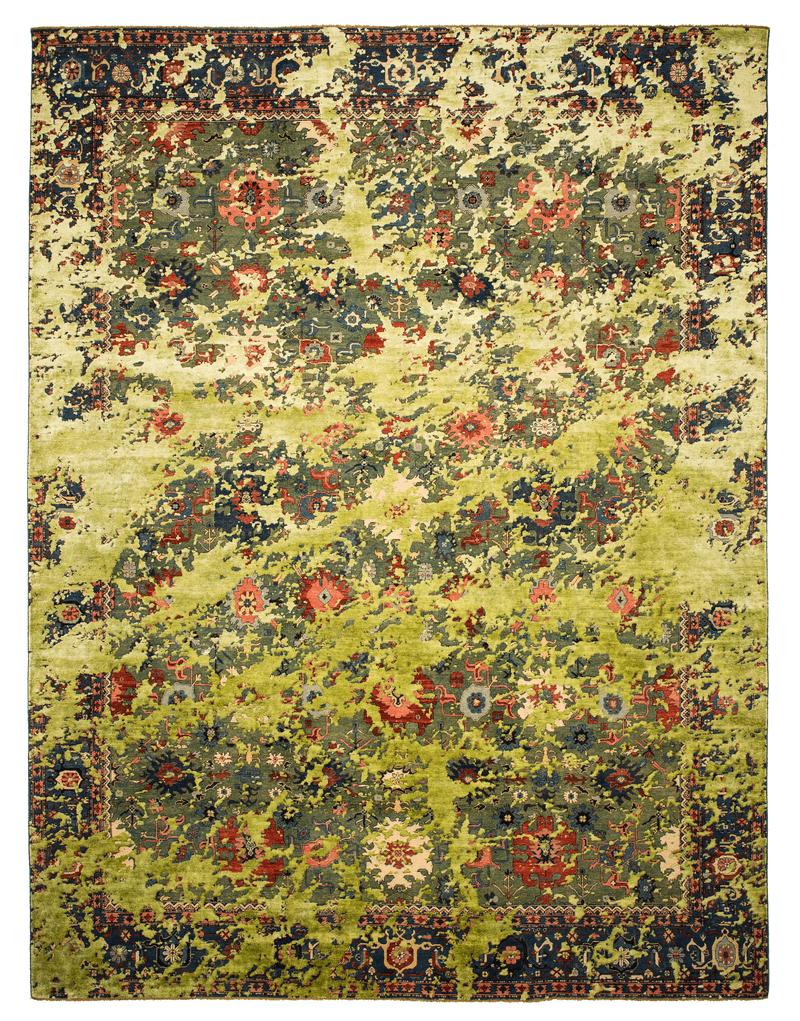 Picture of a Bidjar Kingscross Double Sky rug