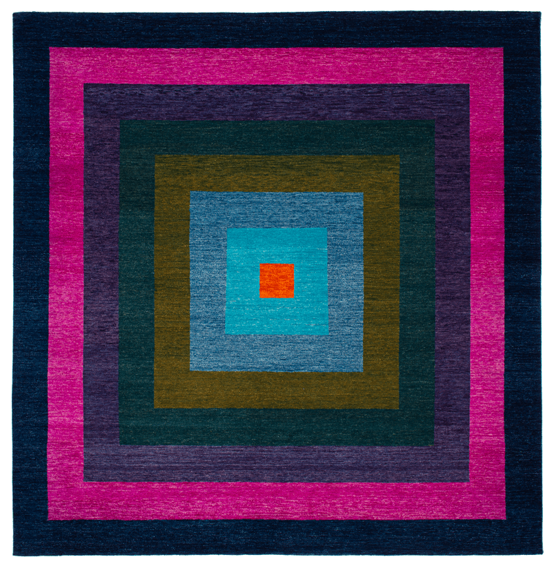 Picture of a Yantra 8 Border rug