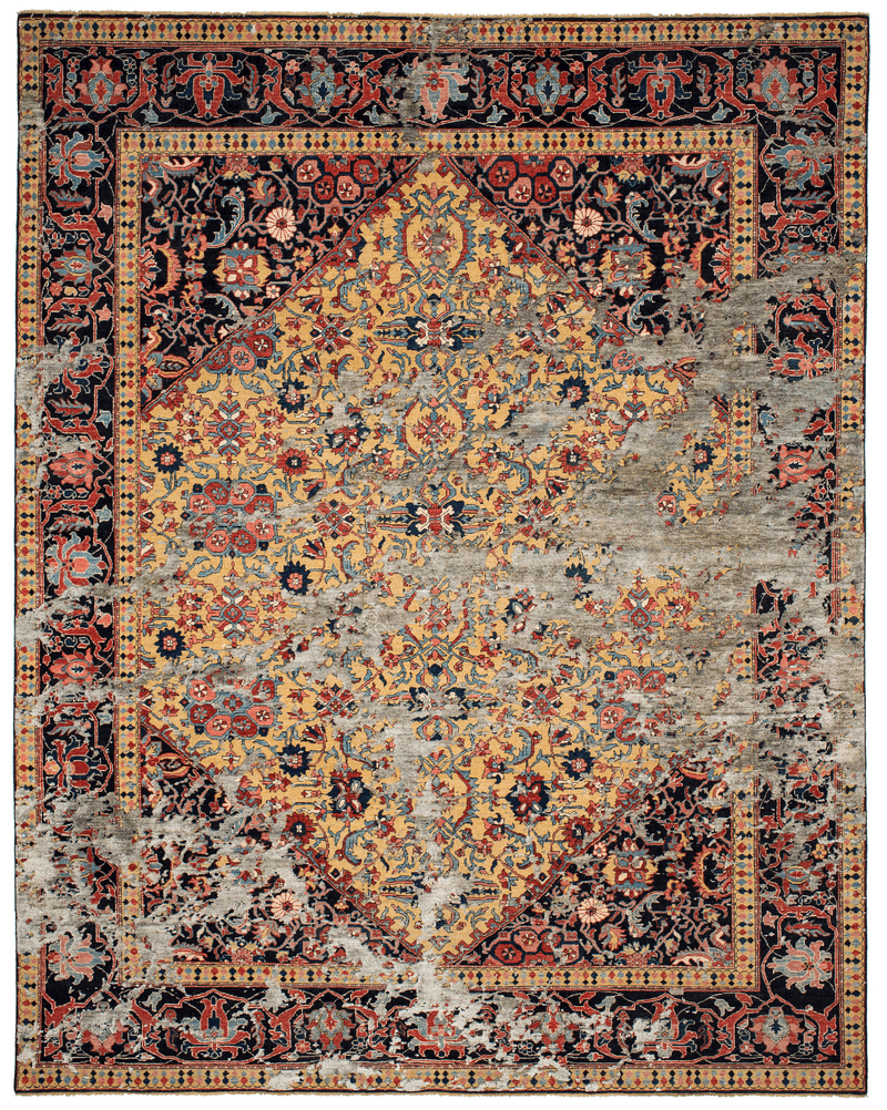 Picture of a Serapi Queensbury Sky rug