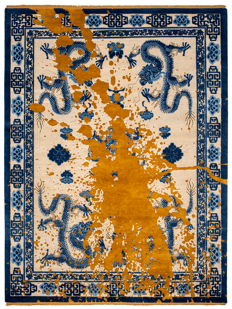 Picture of a Imperial Dragon Deposit rug