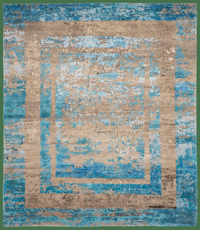 Picture of a Artwork 27 Triple Border Rev rug