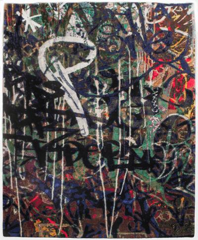 Picture of a Graffiti rug