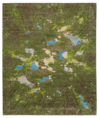 Picture of a Jungle Enlightenment 2 rug