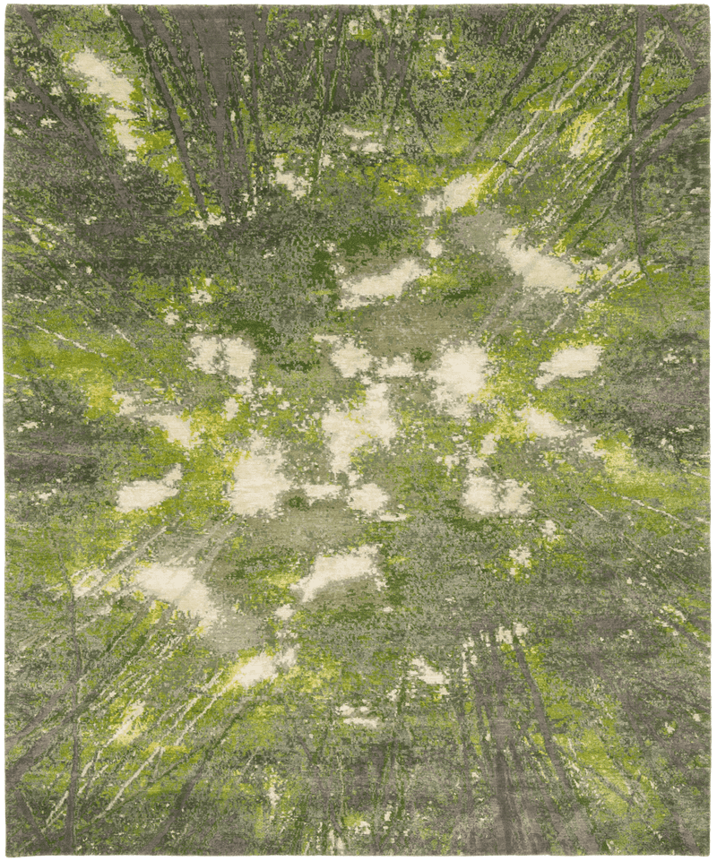 Picture of a Jungle Enlightenment rug