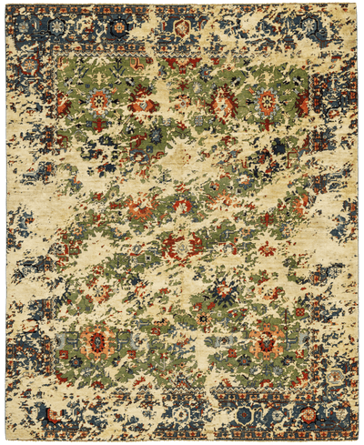Picture of a Bidjar Kingscross Double Sky rug