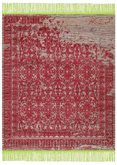 Picture of a Ferrara Radi Rocked rug