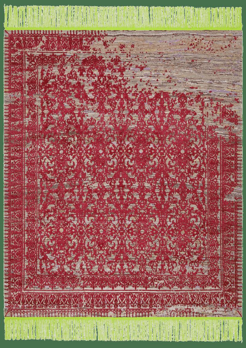 Picture of a Ferrara Radi Rocked rug