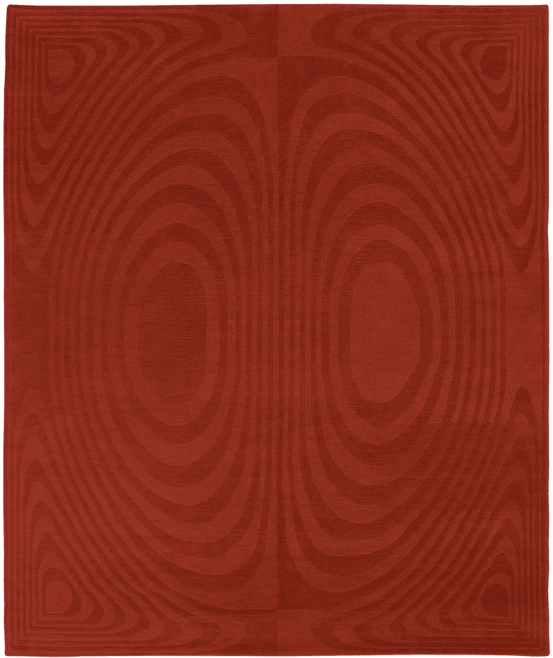 Picture of a OP Art rug