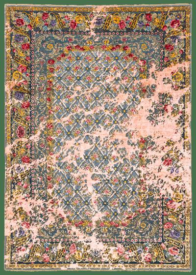 Picture of a Jardin de Paris Sky rug