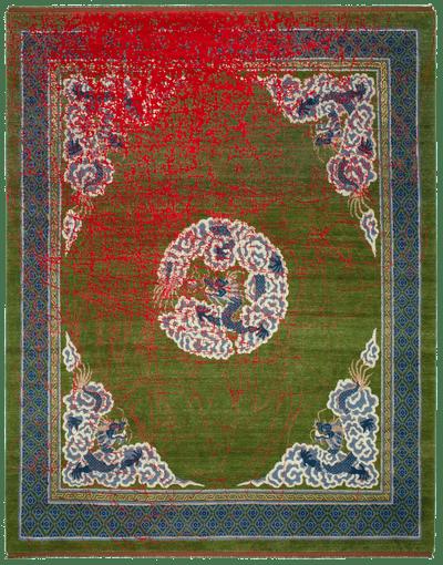 Picture of a Dragon Tohuwabohu rug