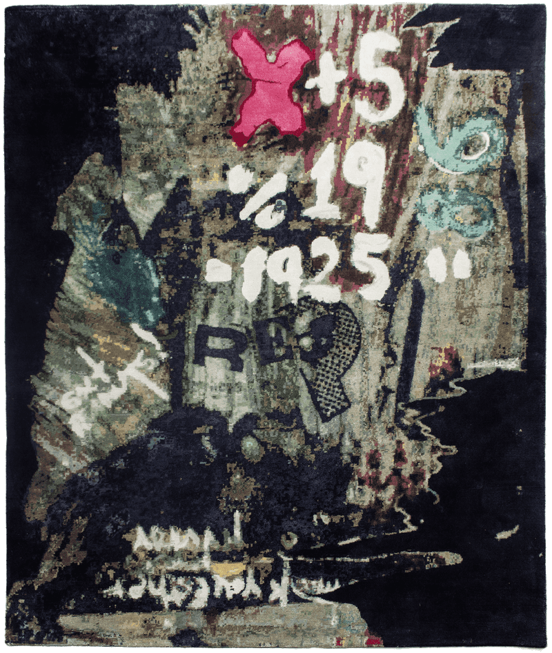 Picture of a Graffity Jane rug
