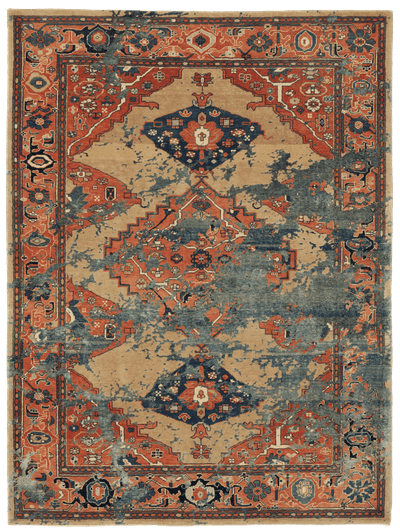 Picture of a Serapi Kingsbury Sky rug