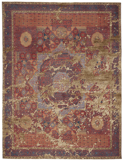 Picture of a Mamluk Columbus Sky rug