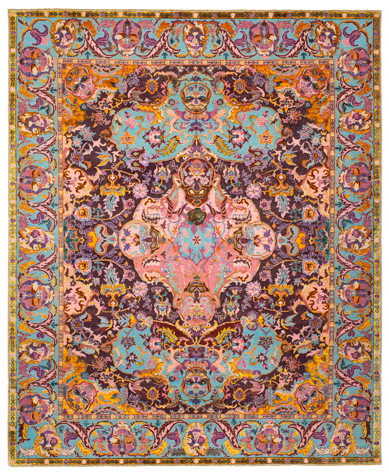Picture of a Skull 1 rug