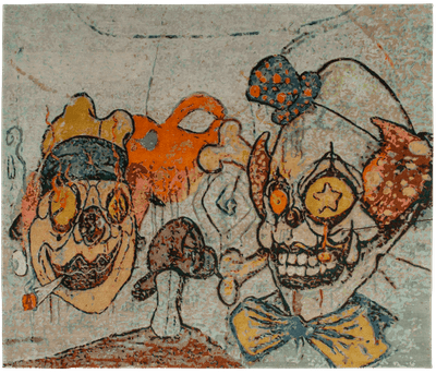 Picture of a Clowns 2 rug