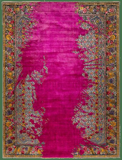 Picture of a Jardin de Paris Blotted rug