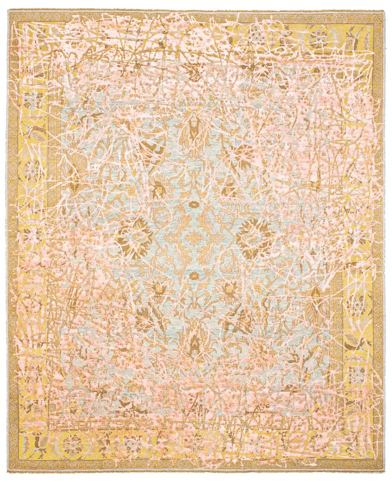 Picture of a Ziegler Prince custom Enjoy rug