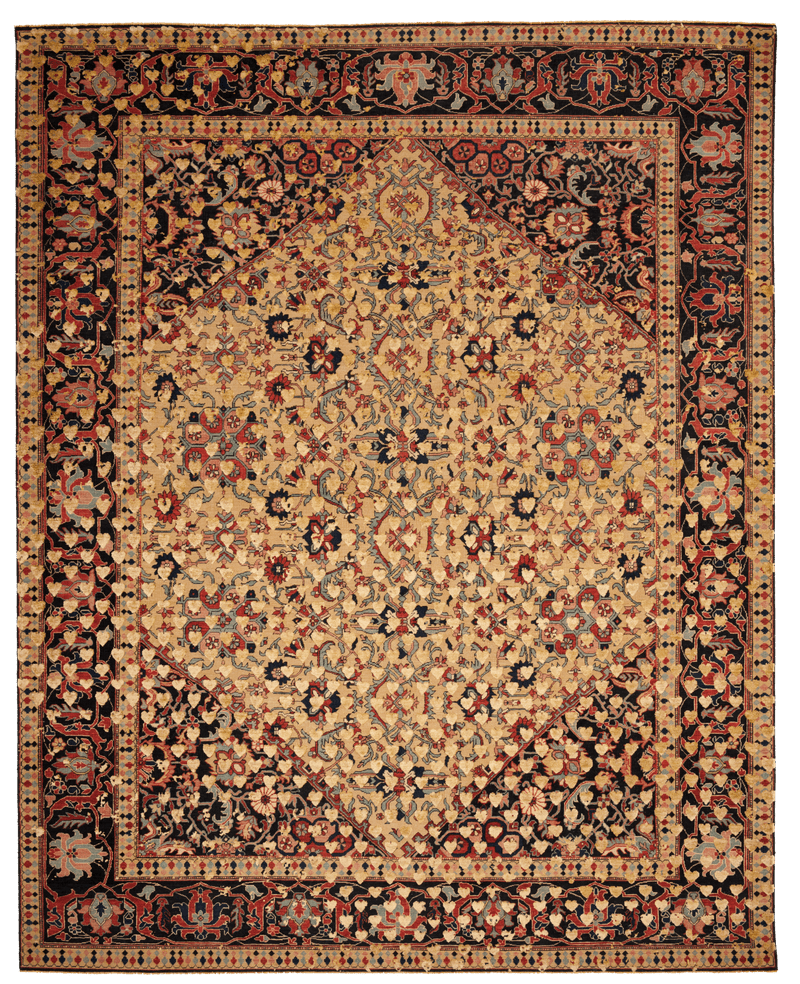 Picture of a Serapi Queensbury Broken Heart rug