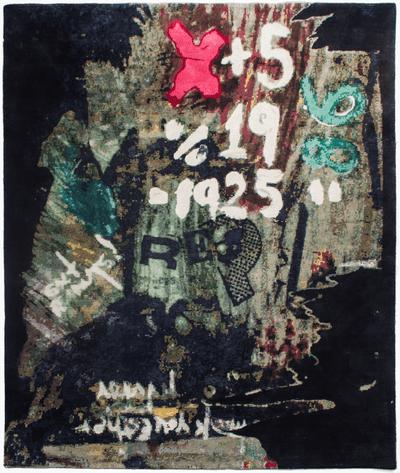Picture of a Graffiti Jane rug