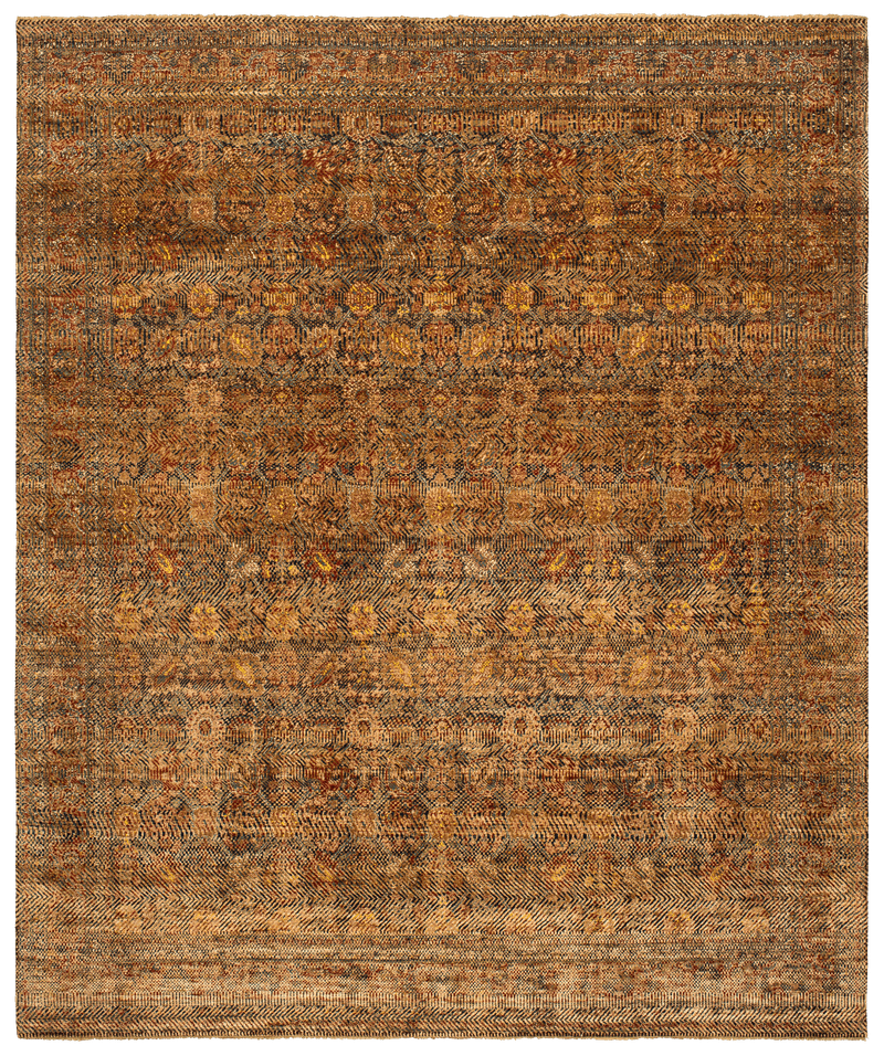 Picture of a Tabriz Canal Grass rug