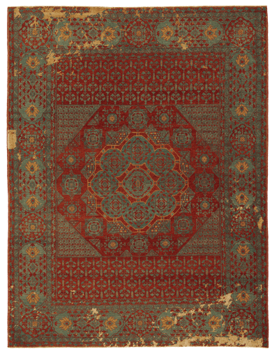 Picture of a Mamluk Kensington Little Rocked rug