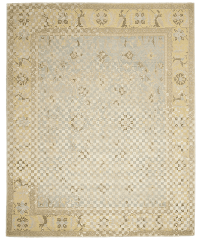 Picture of a Ziegler Prince Checker Raved rug