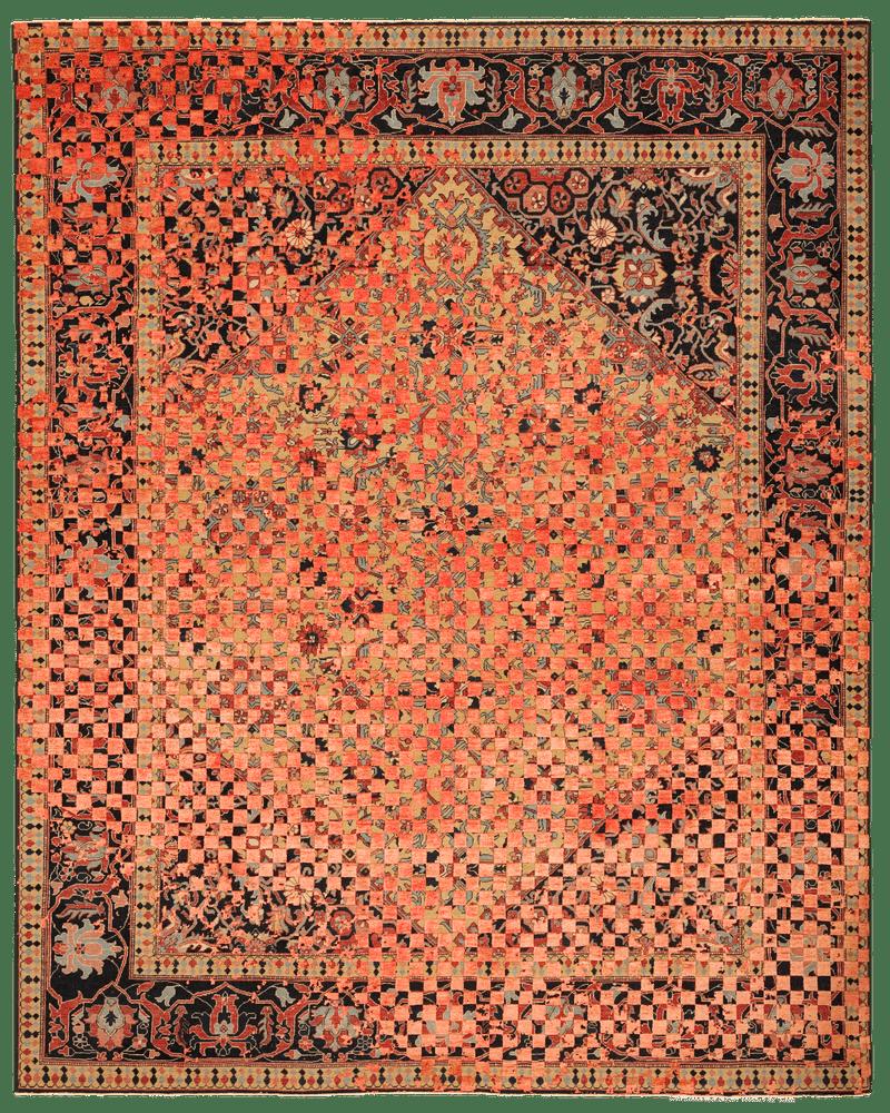 Picture of a Serapi Queensbury Checker Rav. rug