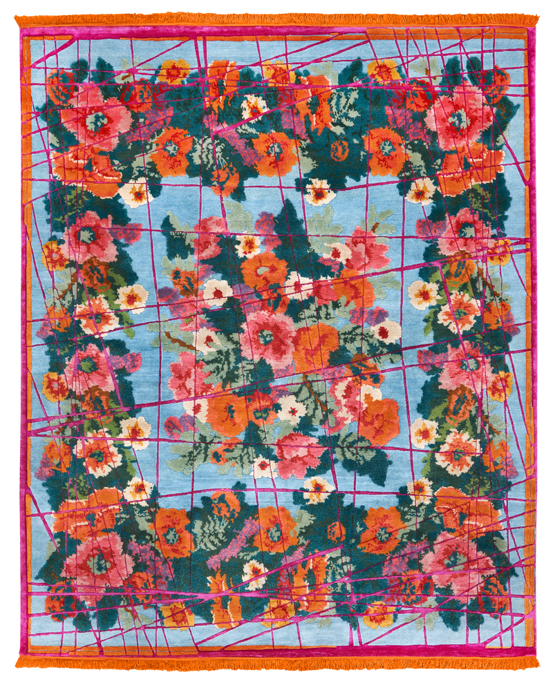 Picture of a Scarlenka Wrapped rug